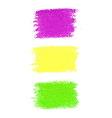 Mardi Gras pastel crayon spots vector image vector image