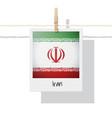 photo of iran flag vector image