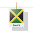photo of jamaica flag vector image