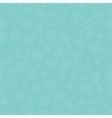 Blue Subtle Winter Snow Flakes Doodle Seamless vector image