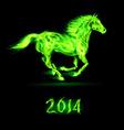 Fair Horse Run2 2014 03 vector image vector image