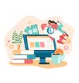 internet inspiration business good idea start up vector image vector image