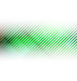 lines abstract on green background vector image vector image