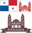 Panama vector image vector image