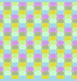 seamless geometric pastel pattern vector image vector image