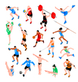 Sport Isometric Set vector image