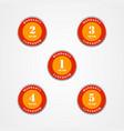 warranty guarantee label set 1 to 5 year