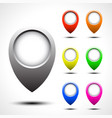 color map pointer set vector image