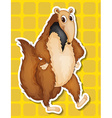 Ant eater vector image vector image