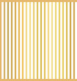 gold foil vertical thin stripes seamless vector image