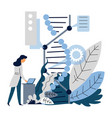 microbiology or genetics artificial intelligence