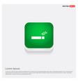 no smoking road sign green web button vector image