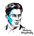 vladimir mayakovsky vector image vector image