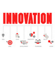 concept innovation innovation vector image vector image