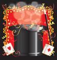 magic magician birthday vector image vector image