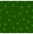 St Patrick day background Seamless pattern vector image vector image