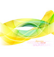 translucent colors design vector image vector image