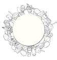 Circular Background vector image