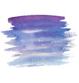 abstract watercolor brush strokes vector image