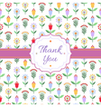 Background with multicolored flowers berries and vector image vector image