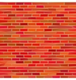 Brick Wall Low Poly vector image