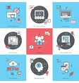 Business Concept Icons Set vector image