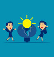 business new ideas concept vector image