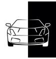 Car 09 007 vector image vector image
