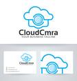 Cloud Camera vector image vector image