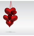 hearts Abstact background vector image