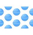 lollipop blue candies seamless pattern vector image vector image