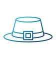 male vintage hat vector image vector image