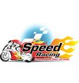Motor sport Speed Racing vector image vector image