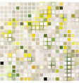 pale square mosaic effect vector image