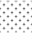 Plane pattern simple style vector image vector image