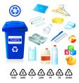 Plastic re-cycle waste vector | Price: 3 Credits (USD $3)