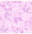 Purple flower seamless pattern vector image vector image