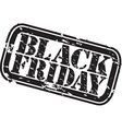 Black Friday stamp vector image