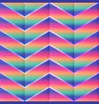 abstract zigzag pattern vector image vector image