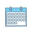 calendar date syymbol vector image