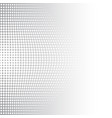 grey and white halftone background vector image vector image