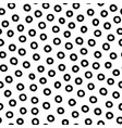 hand-drawn black and white seamless texture vector image vector image