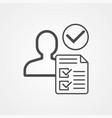 hiring icon sign symbol vector image