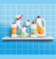 home care goods composition vector image