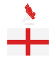 map england vector image vector image