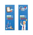 chemistry chemical science pharmacy scientist vector image