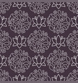 Nature flower seamless pattern