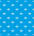 painting mixing pattern seamless blue vector image vector image