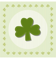 shamrock clover vector image