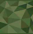 abstract vitrage with low poly military camouflage vector image vector image